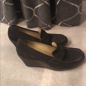 Nine West Loafer Style Wedges
